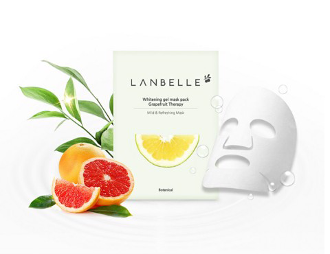 Mặt Nạ Trắng Sáng Da - Whitening gel mask pask Grapefruit Therapy
