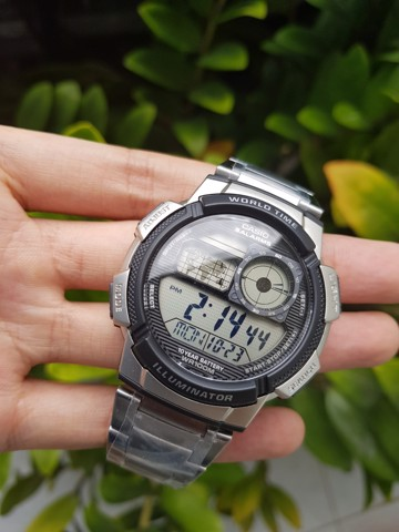 CASIO WORLD TIME AE1000WHD