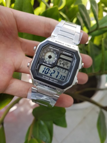 Casio AE1200WHD World Time