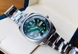 SEIKO Recraft Automatic Green Dial Stainless Steel Men's Watch SNKM97