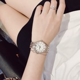 BULOVA 98L234 CRYSTAL MOTHER OF PEARL WATCH ( NỮ )
