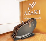 A1 - GHẾ MASSAGE AZAKI CS25 PLUS - NÂU