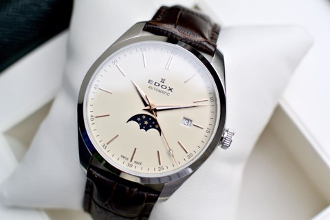 Edox Automatic Moonphase 80505-3-BEIR
