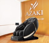 A1 GHẾ MASSAGE AZAKI CS25 PLUS - ĐEN