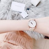 Calvin Klein Posh Quartz White Dial Ladies Watch K8Q336X2