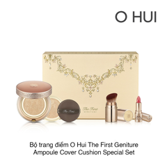 BỘ TRANG ĐIỂM O HUI THE FIRST GENITURE AMPOULE COVER CUSHION SPECIAL SET