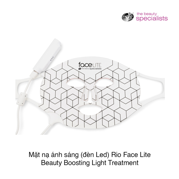 MÁY MẶT NẠ ÁNH SÁNG (ĐÈN LED) RIO FACE LITE BEAUTY BOOSTING LIGHT TREATMENT