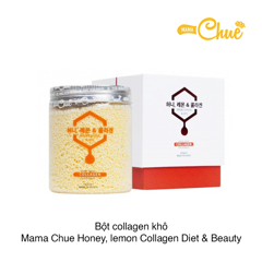 BỘT COLLAGEN KHÔ (DẠNG CỐM) MAMACHUE HONEY, LEMON COLLAGEN DIET & BEAUTY