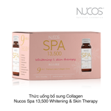 THỨC UỐNG BỔ SUNG COLLAGEN NUCOS SPA 13,500 WHITENING & SKIN THERAPY 9-IN-1 PREMIUM NANO COLLAGEN DRINK