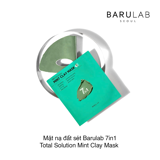 Mặt nạ đất sét Barulab 7in1 Total Solution Mint Clay Mask