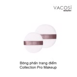 Bông phấn trang điểm Vacosi Makeup House Collection Pro Makeup