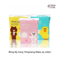 Bông tẩy trang Yilingmeng Make up cotton