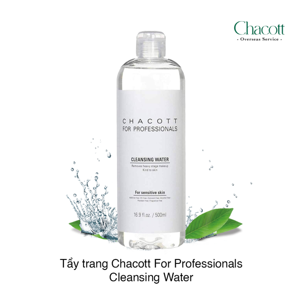 Nước tẩy trang Chacott For Professionals Cleansing Water
