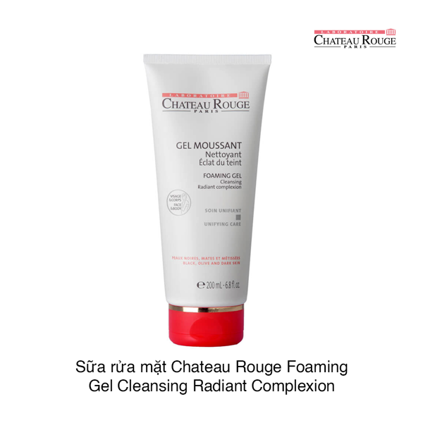 Sữa rửa mặt Chateau Rouge Foaming Gel Cleansing Radiant Complexion