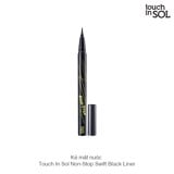 Kẻ mắt nước Touch In Sol Non-Stop Swift Black Liner