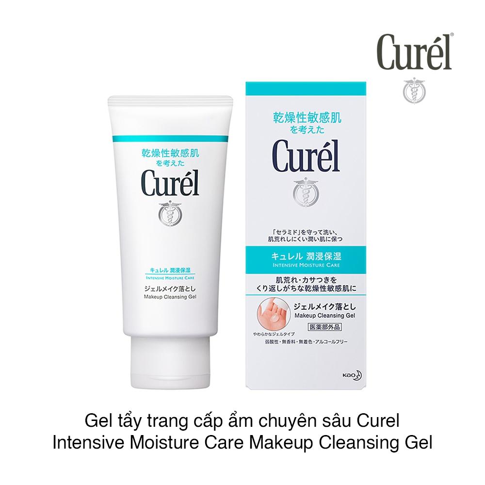 Gel tẩy trang cấp ẩm chuyên sâu Curel Intensive Moisture Care Makeup C –  CHỢ TÌNH CỦA BOO   MỸ PHẨM VÀ LÀM ĐẸP