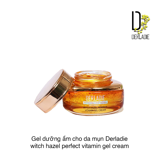 GEL DƯỠNG ẨM CHO DA MỤN DERLADIE WITCH HAZEL PERFECT VITAMIN GEL CREAM