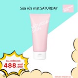 Sữa rửa mặt Saturday Skin Rise + Shine Purifying Cleanser 120ml