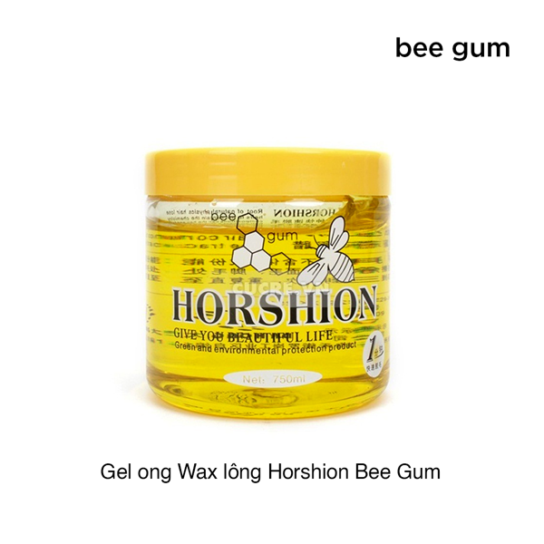 Gel ong Wax lông Horshion Bee Gum