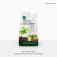 Kem dưỡng ngày Yeppen Skin Cicaless Solution Cover Cream Day