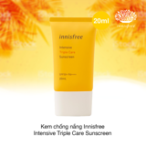 Kem chống nắng Innisfree Intensive Triple Care Sunscreen SPF50
