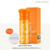 Kem chống nắng 3 trong 1 Nature Republic Ice Puff Sun SPF50+/PA+++