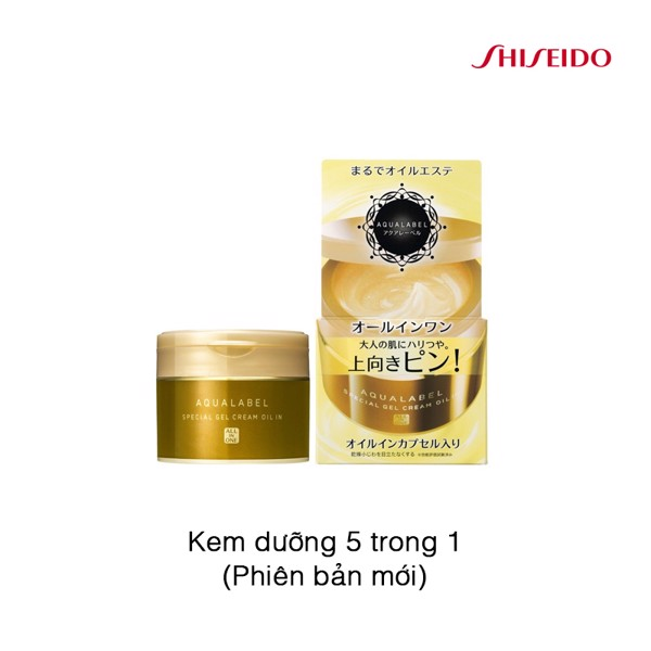 Kem dưỡng Shiseido Aqualabel Special Gel Cream Oil In 90g