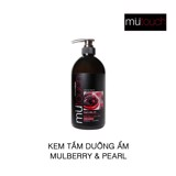 Sữa tắm dưỡng ẩm Mutouch Mulberry and Pearl Moisturising 1000ml