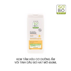 Sữa tắm So'Bio Etic Extra Rich Shea Oil Body Wash 650ml