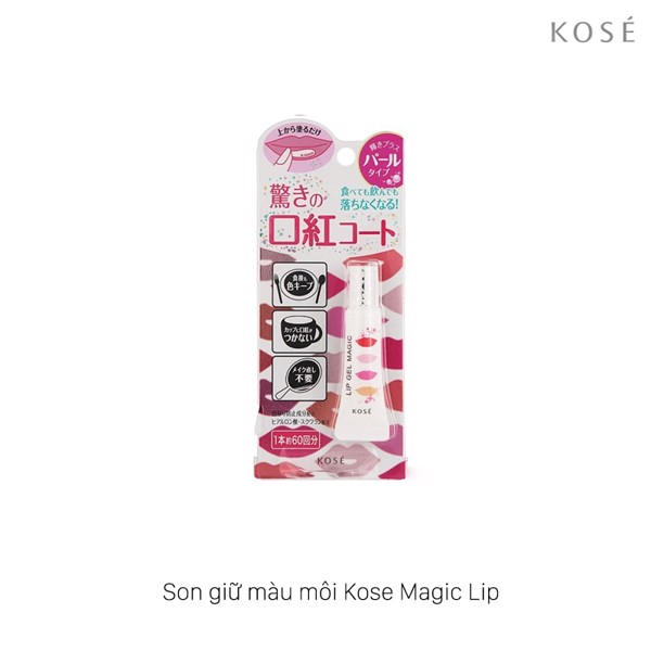 Son giữ màu môi Kose Lip Gel Magic 6g