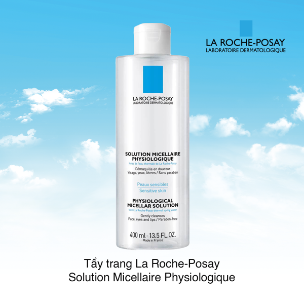 Tẩy trang La Roche-Posay Solution Micellaire Physiologique