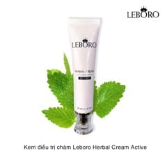 Kem điều trị chàm Leboro Herbal Cream Active 30ml