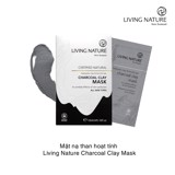 Mặt nạ than hoạt tính Living Nature Charcoal Clay Mask