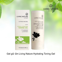 Gel giữ ẩm Living Nature Hydrating Toning Gel