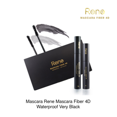 Mascara Rene Mascara Fiber 4D Waterproof Very Black