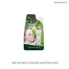Mặt nạ ngủ Yeppen Skin Cicaless Sleeping Pack 25g