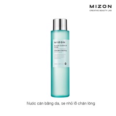Nước cân bằng da Mizon Black Clean Up Pore Water Finisher Sebum Control Silky Skin
