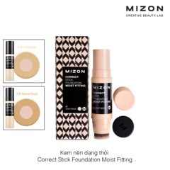 Kem nền dạng thỏi Mizon Correct Stick Foundation Moist Fitting