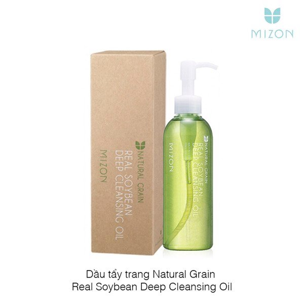 Dầu tẩy trang Natural Grain Real Soybean Deep Cleansing Oil