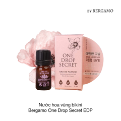 Nước hoa vùng bikini Bergamo One Drop Secret EDP