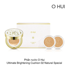 PHẤN NƯỚC O HUI ULTIMATE BRIGHTENING CUSHION SPECIAL SET (SPF50+/PA+++)