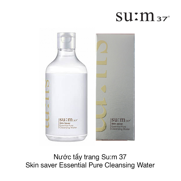 NƯỚC TẨY TRANG SUM37 SKIN SAVER ESSENTIAL PURE CLEANSING WATER