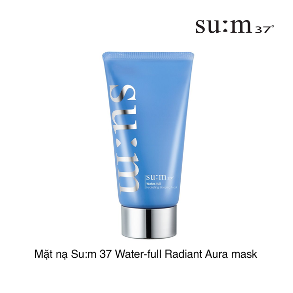 MẶT NẠ SUM37 WATER-FULL RADIANT AURA MASK
