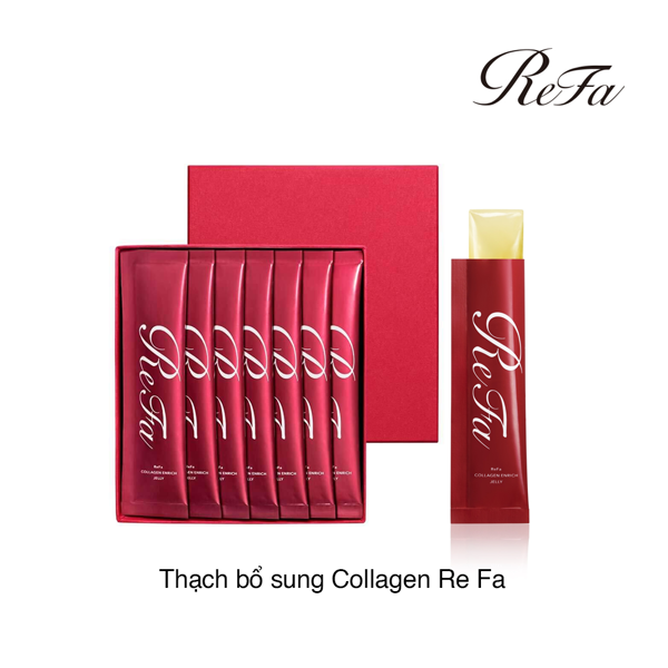 THẠCH BỔ SUNG COLLAGEN REFA COLLAGEN ENRICH JELLY