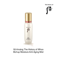 XỊT KHOÁNG THE HISTORY OF WHOO BICHUP MOISTURE ANTI-AGING MIST