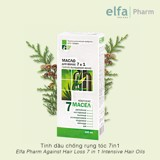 Tinh dầu chống rụng tóc 7 in 1 Elfa Pharm Against Hair Loss 7 in 1 Intensive Hair Oils