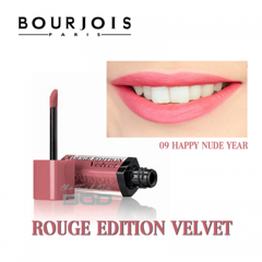Son lì dạng kem Bourjois Rouge Edition Velvet #9 Happy Nude Year