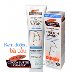 Kem ngăn ngừa rạn da Palmer's Cocoa Butter Formula Massage Cream For Stretch Marks