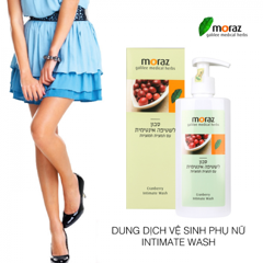 Dung dịch vệ sinh phụ nữ Moraz Intimate Wash