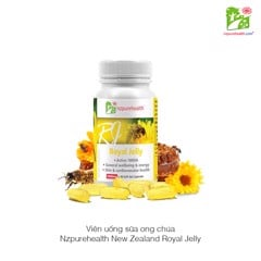 Viên uống sữa ong chúa Nzpurehealth New Zealand Royal Jelly